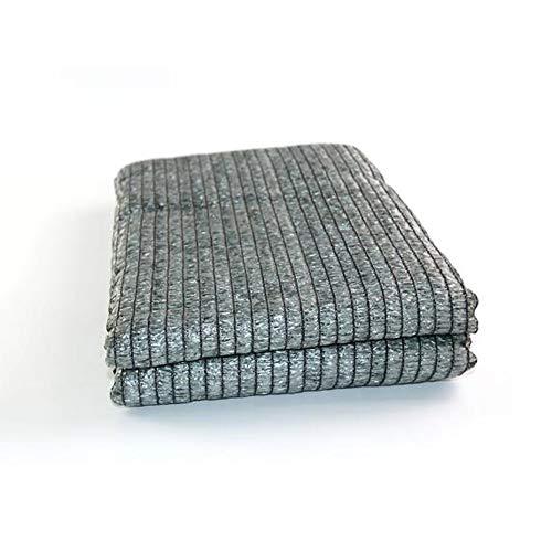 WXQIANG Pantalla de Tela protección de Las Plantas de Habitaciones Sun del Agujero del Metal Reforzado Esquina no Endotérmico Papel de Aluminio sombreado Neto Protección Solar, Aislamiento térmico.