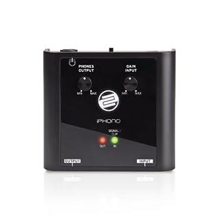 scheda reloop iphono 2 - interfaccia di registrazione usb phono/line e scheda audio - per digitalizzare vinili, cassette, mini disc e live set (nero)