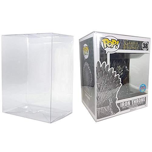 Gosu Toys - Funda protectora de plástico transparente compatible con figuras Funko Pop de 15,2 cm, Paquete de 5