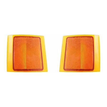 Dorman 1650138 Front Driver Side Lower Side Marker Light Assembly for Select Chevrolet Models