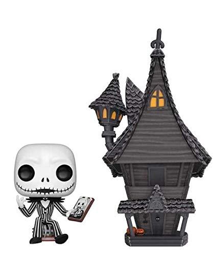 Popsplanet Funko Pop! Town – Figura de vinilo «Nightmare Before Christamas» – Jack Skellington & Jack's House #07 de 10 cm realeased 2019