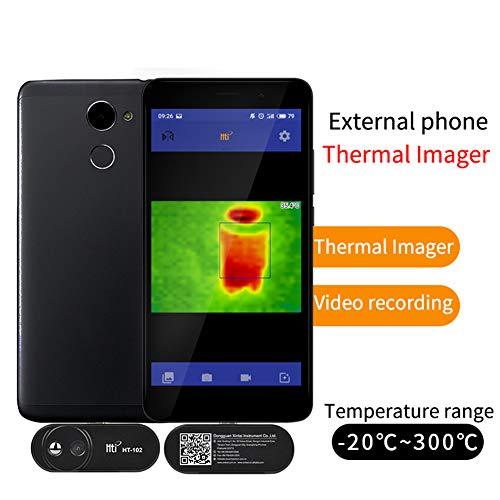 DJG Thermal Imaging Infrarot-Kamera Thermometer Externer Infrarot-Wärmebildkamera Für Android Mit Adapter Terrestrial Wärme