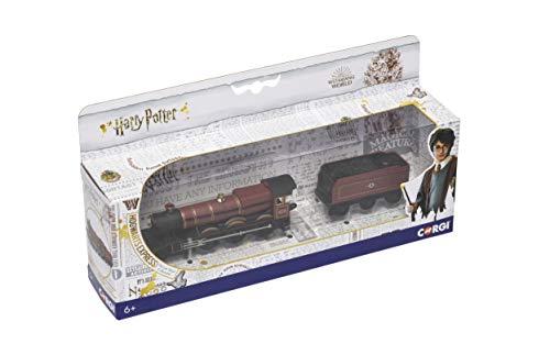 Corgi Harry Potter Hogwarts Express 1:100 – Tren de exhibición a presión, Modelo CC99724, Rojo y Negro