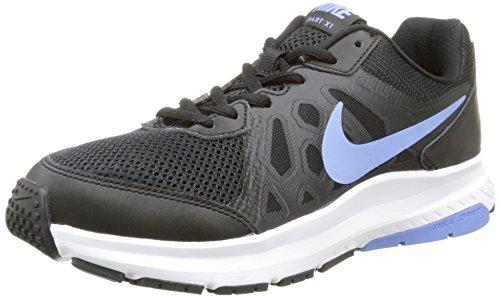 Nike Damen Dart 11 Laufschuhe, Mehrfarbig (Black/Chalk Blue-Black-White 040), 36.5 EU