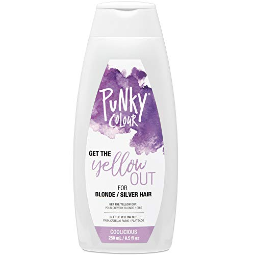 Punky Coolicious Purple Toner, 3-in-1 Shampoo and Conditioner, 8.5 oz