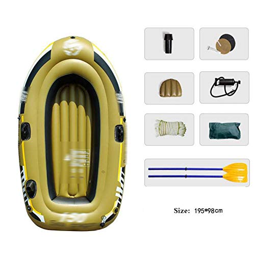 BYCDD Tabla de Paddle Surf Hinchable, Tabla de Surf Sup portátil Cubierta Antideslizante Cubierta no deslizantes para Todos los Niveles,A_195X98CM