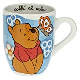 THUN - Mug Winnie The Pooh con Farfalla Disney® - Accessori Cucina - Idea Regalo - Porcellana - Mug 300 ml, Ø 8,5 cm, 10,5 h cm