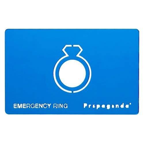 Propaganda Notfall Ring, Blau