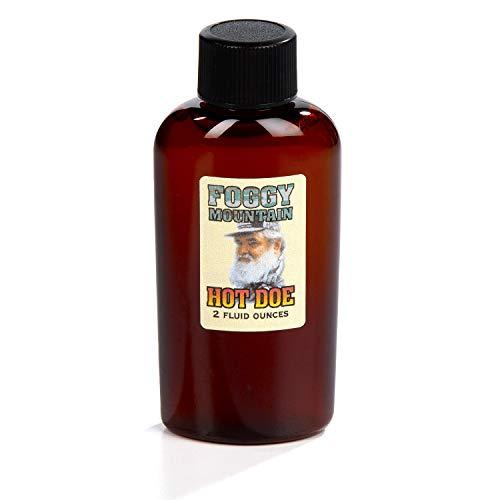 Foggy Mountain Hot Doe - Doe in Heat Buck Lure - 2 oz Bottle