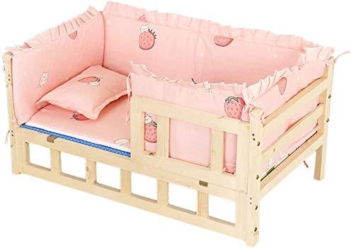 Invierno del animal doméstico cama del perro de Dazhong perro pequeño con colchón elevado sofá-cama para perros lavable, fácil de instalar,XL 112x64x36 cm 44x25x14 in