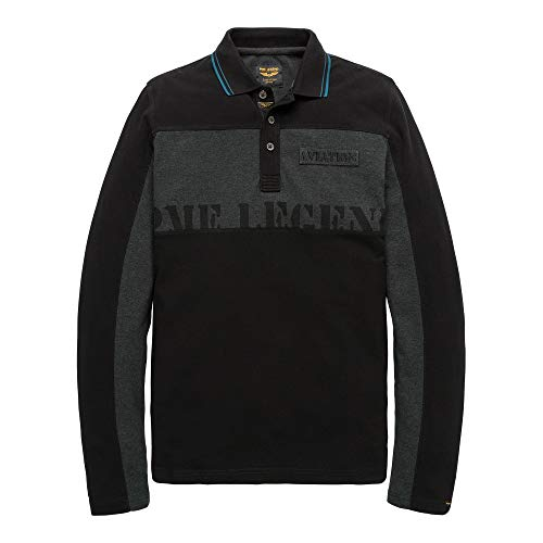 PME Legend Polo Rugged Pique - Longsleeve