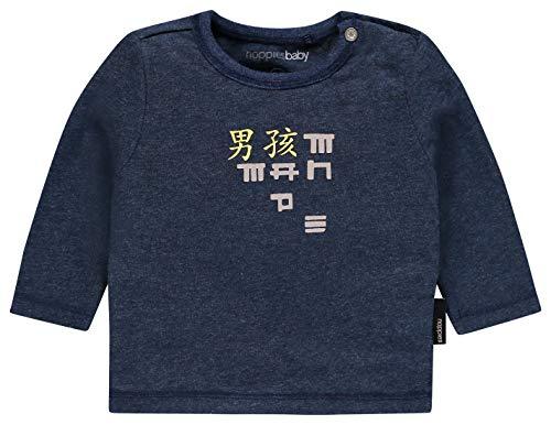 Noppies Noppies Baby-Jungen B Tee ls Wasco Langarmshirt, Blau (Navy Melange C167), 86