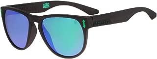 Dragon Marquis Floatable Sunglasses (Matte Black H2O/Green Ion P2)