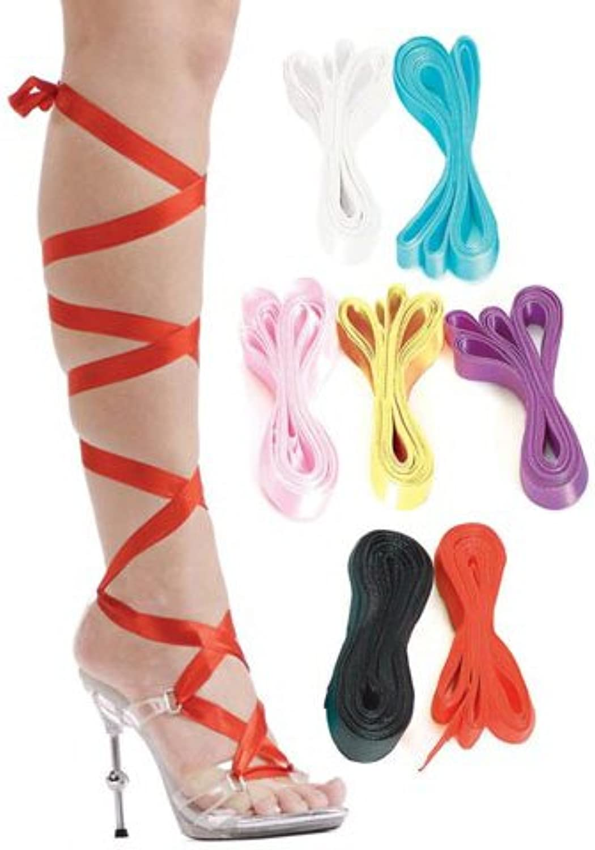 Ellie 4.5Metallic Heel W 7 Interchangable Ribbons.
