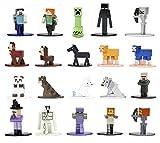Jada Toys Minecraft 253265004 - Juego de 20 Figuras coleccionables (4 cm)