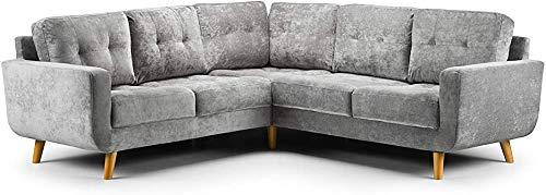 Wohnzimmermöbel, Sofa, Sessel, Sofa Multiplayer,Grey-2C2 Corner