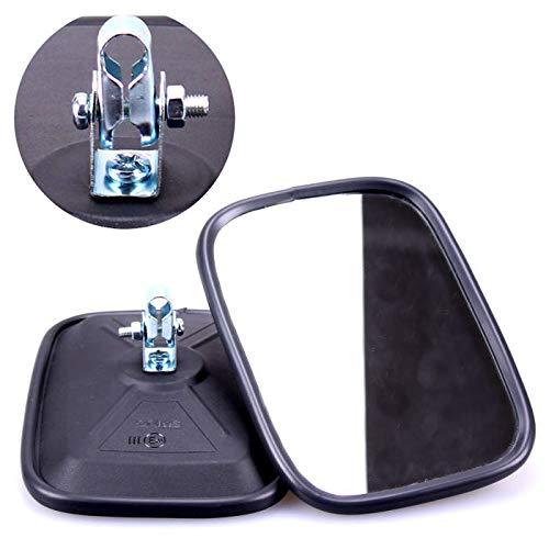 TRUCK DUCK® 2x Universal Rückspiegel 175x120mm Außenspiegel Seitenspiegel Set für Traktor Bagger LKW Wohnmobil