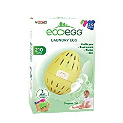 Completely replaces normal washing detergent - no liquid or powder required, just the ecoegg laundry egg Lasts for up to 210 washes, that's a whole years' of washing for the average family - imagine the money you will save Clinically proven to have s...