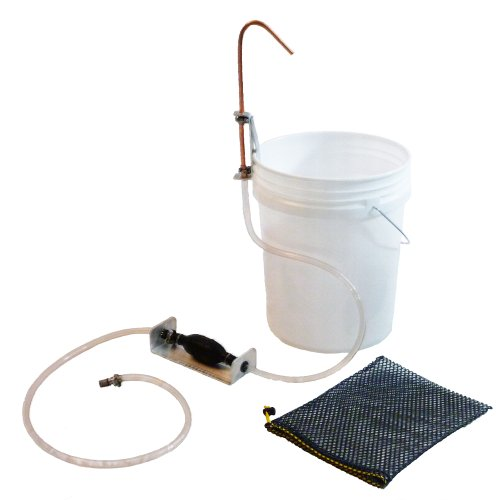 Tye Works Standard Hand Wash System (Hands Free Camp Sanitation) - Note That Buckets are not Included.