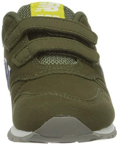 New Balance 500, Zapatillas Bebé-Niños, Hoja de Roble Verde, 21 EU
