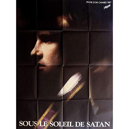 SOUS LE SOLEIL DE SATAN Affiche de film 120x160 cm - 1987 - Depardieu, Pialat