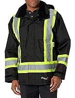 Viking Professional Journeyman FR Waterproof Flame Resistant Jacket, Black, Medium