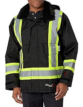 Viking Professional Journeyman FR Waterproof Flame Resistant Jacket Black 2XL