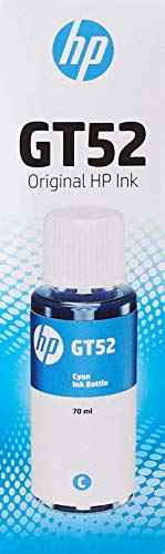 HP Tinta de Recambio Cian No. GT52.