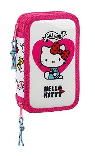 Hello Kitty Girl Gang double pencil case 28pcs