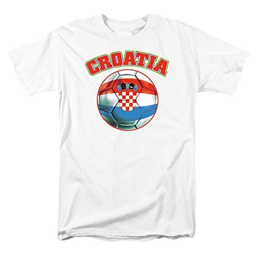 Popfunk Croatia World Cup Soccer T Shirts & Stickers (XX-Large)
