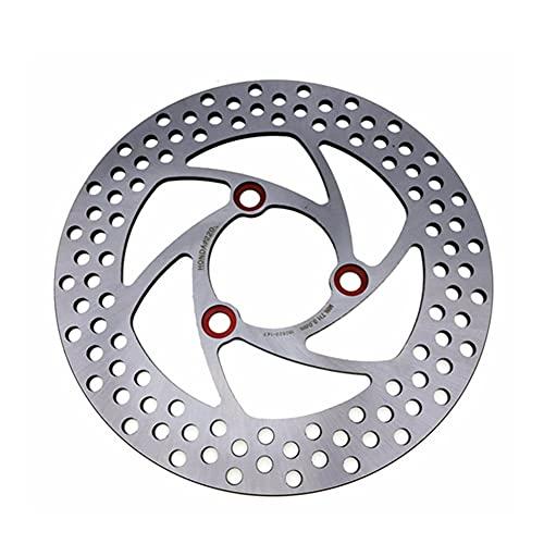 Freno Disco Rotor Discos De Disco Delanteros Traseros Universales De Freno De S&Cooter De Motocicleta De Acero Inoxidable De 7,0 Pasos Universales Discos Freno
