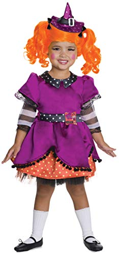LaLaLoopsy Candy Broomsticks Deluxe Costume, Toddler
