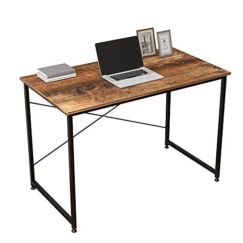 SogesPower - Mesa de estudio para ordenador o oficina, mesa de trabajo, mesa de estudio para oficina en casa, 110 x 60 x 75 cm SP-CZJYB-SJ01
