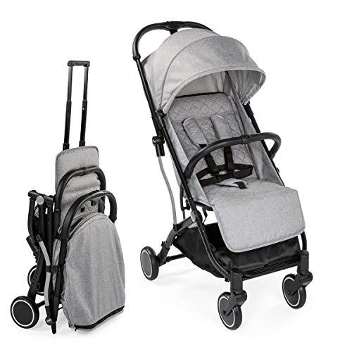 Chicco TrolleyMe - Silla de paseo compacta tipo trolley, con asa para transporte, color gris (light Grey)