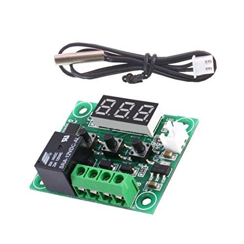 Mini Thermostat W1209 12V -50 bis 110°C mit Relaisausgang u. LED (0054)
