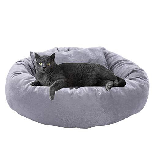 Katzen Kleine Hunde Weiche Haustierbett Tragbare Welpen Sofakissen Nest Warme Plüsch Isomatte Matte Mit Kissen (Size : L50*15cm)