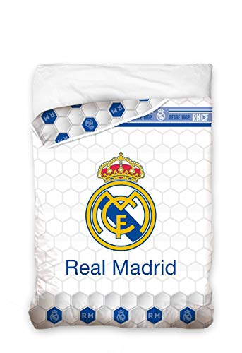 Asditex EDREDON Cama de 90 cm Modelo Real Madrid C.F - Estam