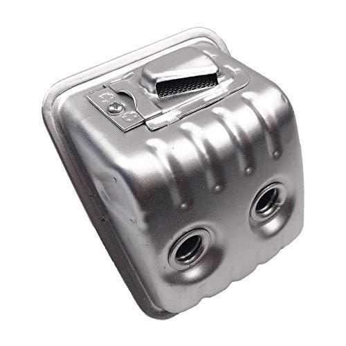 petsola Silenciador de Escape de Repuesto para Recortadora de Motosierra Husqvarna 445