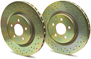 Brembo 33S50073 Sport Drilled Brake Rotor Kit