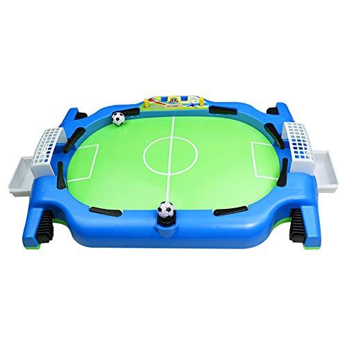 Fnsky Mini juego de fútbol de mesa, juego de fútbol de escritorio para dos jugadores, juguete deportivo para niños, juego de fútbol de mano recreativa para niños