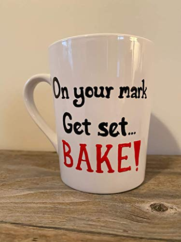 On your Mark Get set Bake Coffee Mug - The Great British Baking Show
