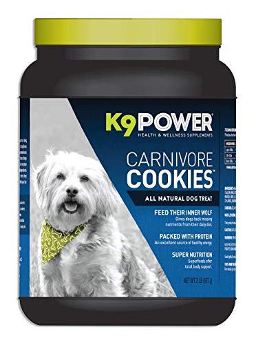 K9 Power - Carnivore Cookies - All Natural Healthy Dog Treats (2 lb)