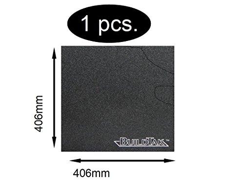 BuildTak 406X 406mm bt16X 16Stampa Letto di rivestimento stampante 3d Durata Stampa Piastra