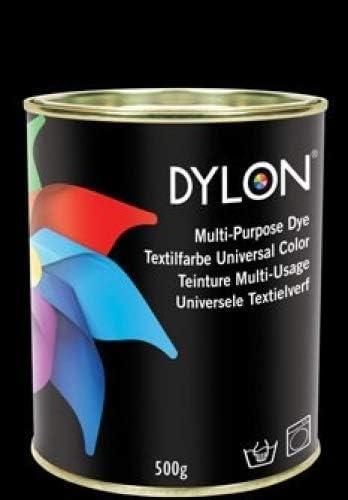 Tinte de tela Dylon, multiusos, manual y a máquina, lata de ...