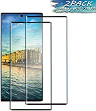 [2Pack] Samsung Galaxy Note 10 +/Note 10 Plus Screen Protector, Tempered Glass Anti-Scratch, Bubble Free and Case Friendly...
