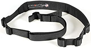 Blue Force Gear BLFVCAS-200-OA-BK Vickers 2-Point Padded Combat Sling, Black