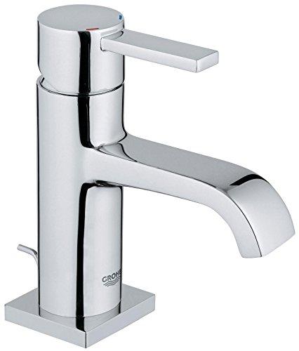 GROHE Allure Badarmaturen Einhand-Waschtischbatterie (DN 15M-Size, Einlochmontage) chrom, 32757000