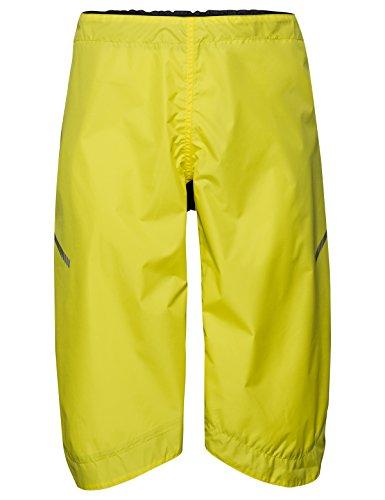 VAUDE Accessories Bike Chaps, Überzieh-Hose für den Radsport, canary, XL/2XL, 412571255600