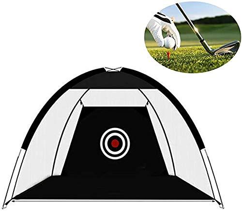 CRXL winkel Elektrische Dekens Golf Chipping Pop Up Praktijk Net, 2M Opvouwbare Golf Rijden Kooi Hitting Net, Outdoor Sport Draagbare Praktijk kooi, Indoor Tuin Trainer, Korte Spel Training