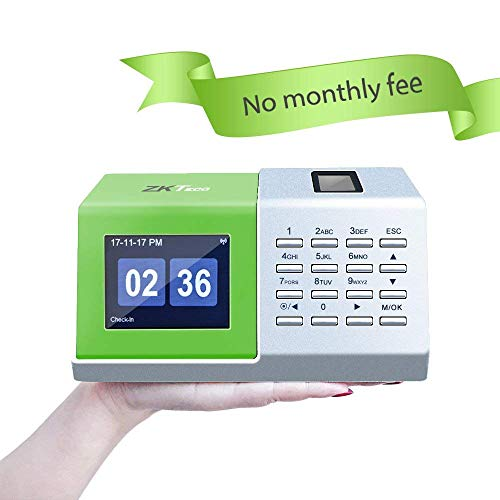ZKTeco D2 Zeiterfassungsterminal für Schreibtischplatte mit biometrischer Fingerabdruckerkennung
